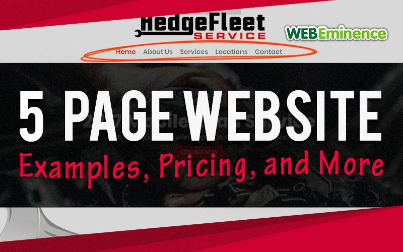 5 Page Website – Pricing, Examples, and More