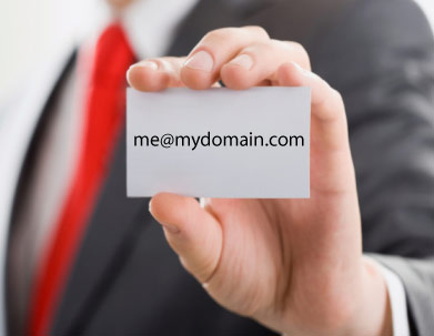 Get a Personalized Email Address On Your Domain Name - Web Eminence