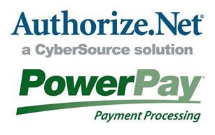 Authorize.net & Powerpay