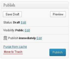 Wordpress Publish