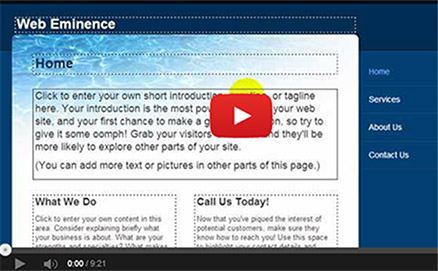Yahoo Small Business Websites - Video Review - Web Eminence