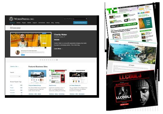 Get WordPress website design