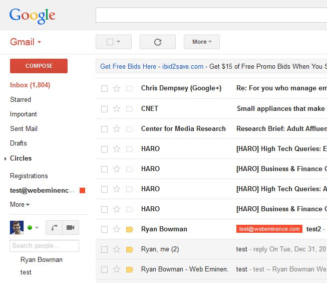 how to i add an important email address on gmail