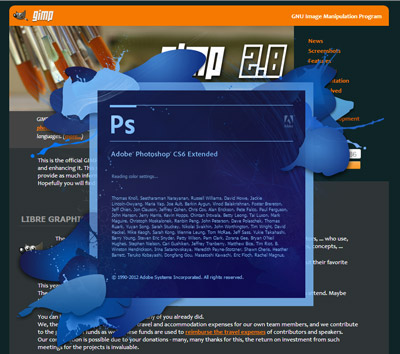 Photoshop GIMP