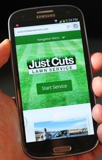 Responsive Lawn Service Web site