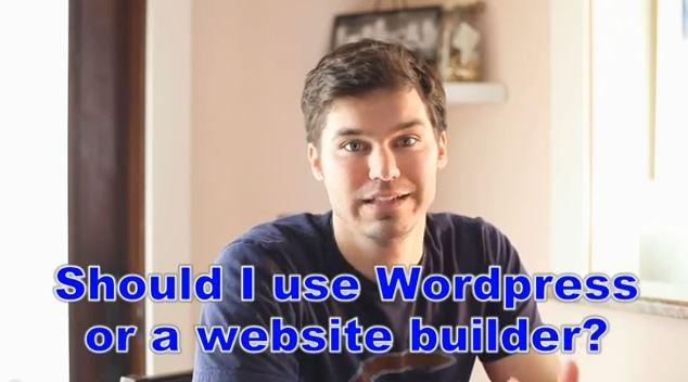 WordPress or Website Builder… I help you choose