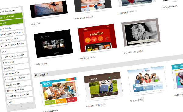 Templates - Godaddy Website Builder