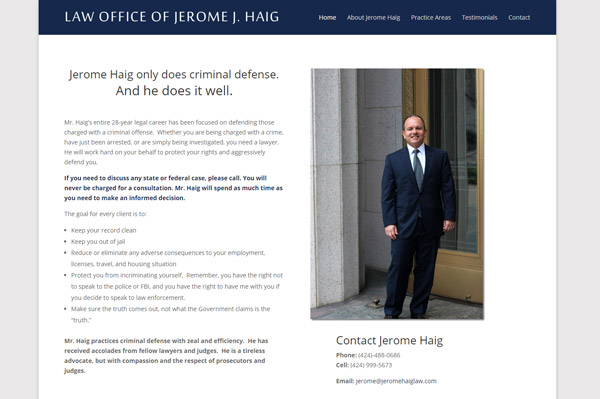 Lawyer Web Design From a Lawyer's Perspective