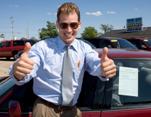 Sleezy Used Car Salesman