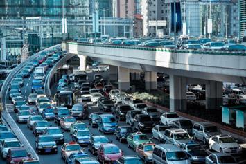 Traffic Jam like Web Hosting Slow Down