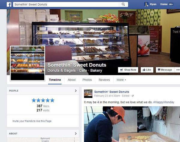 Restaurant Social Marketing