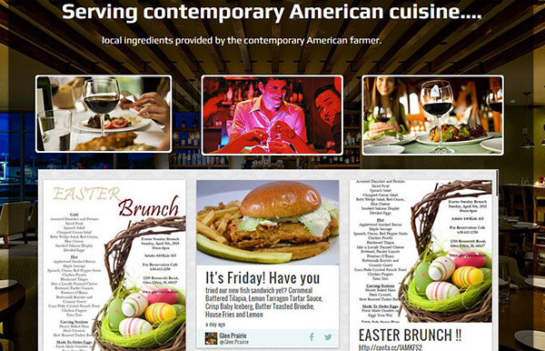 Restaurant Website Makeover