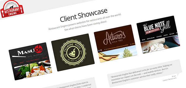 RestaurantEngine Website Service