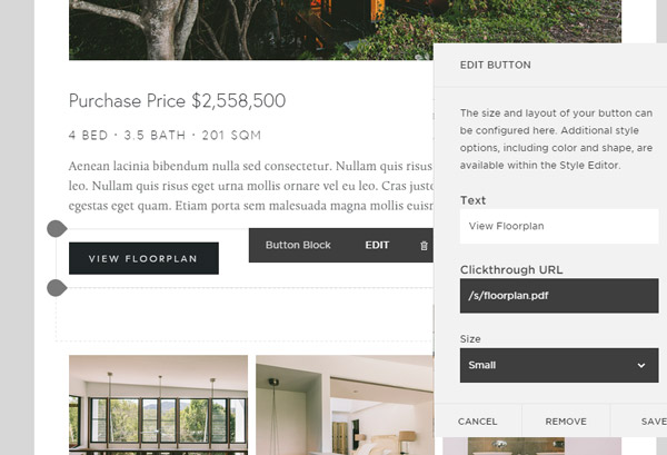 Website Building with Squarespace