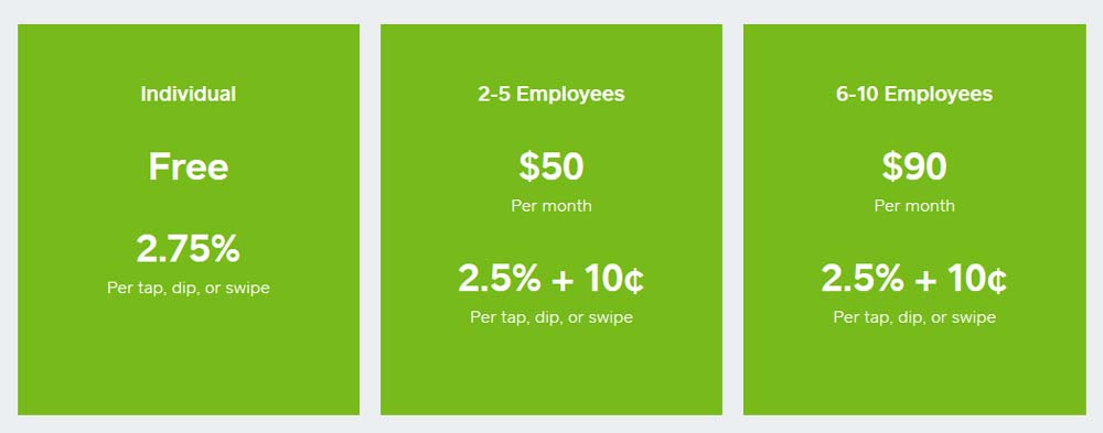 Pricing for Square Appointments