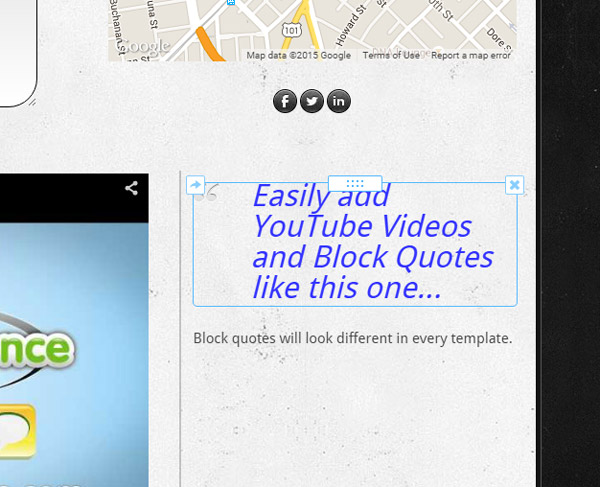 Weebly Box Layout