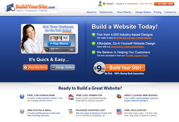 BuildYourSite.com – Build Your Site Somewhere Else!