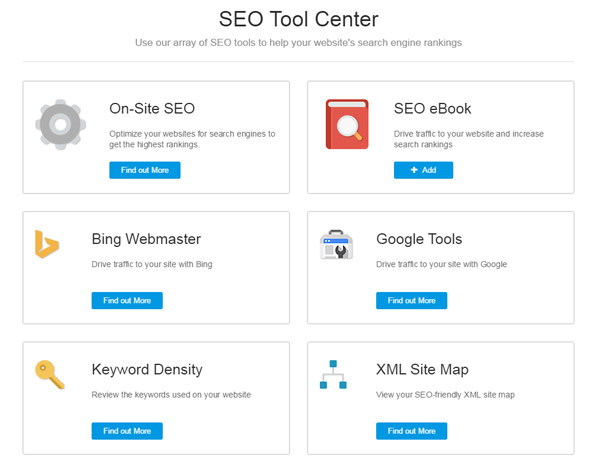 SEO Tools with WebsiteBuilder.com