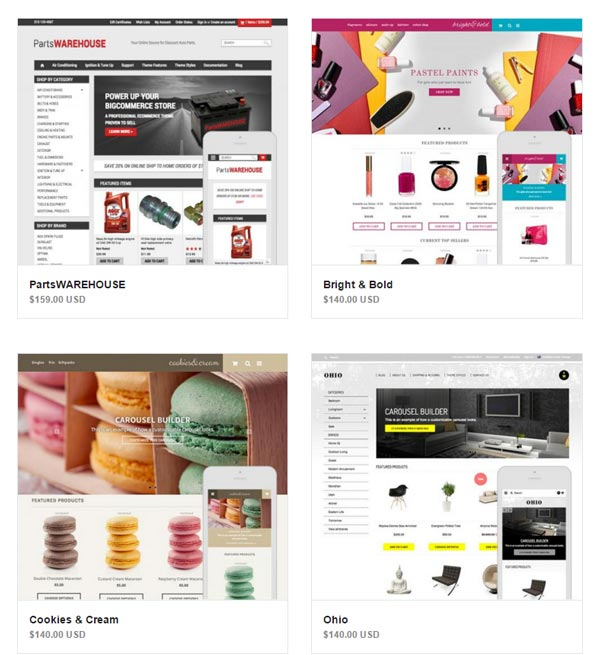 Bigcommerce Design Themes