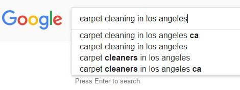 message match - keyword search