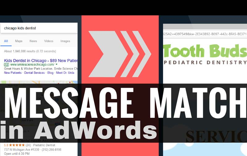 Adwords Message Match – The Benefit Of Clear, Cohesive Communication