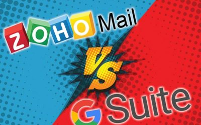 Zoho Mail vs Google G Suite Email