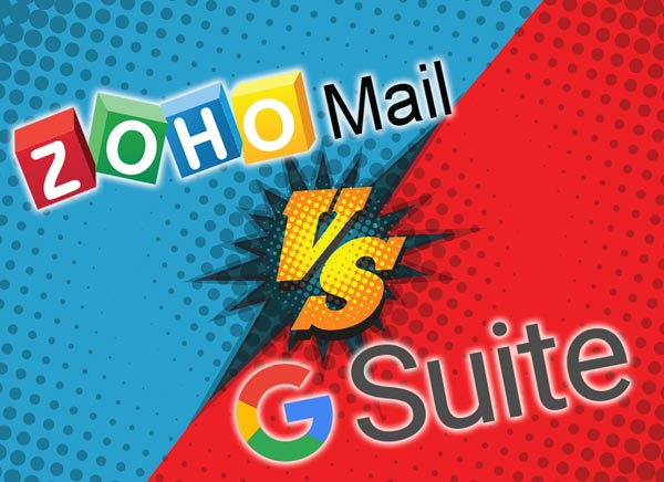 Zoho Mail vs. G Suite