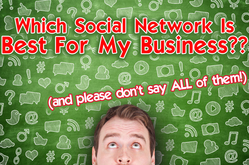 Which Social Media Network Is Best For My Business?