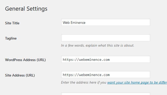 WordPress Site HTTPS