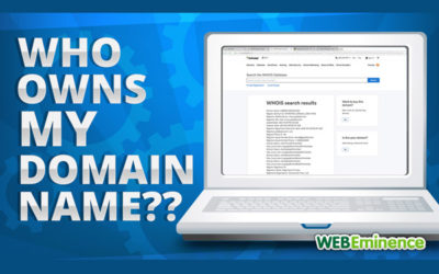 Who Owns My Domain Name? and How Do I Recover It?
