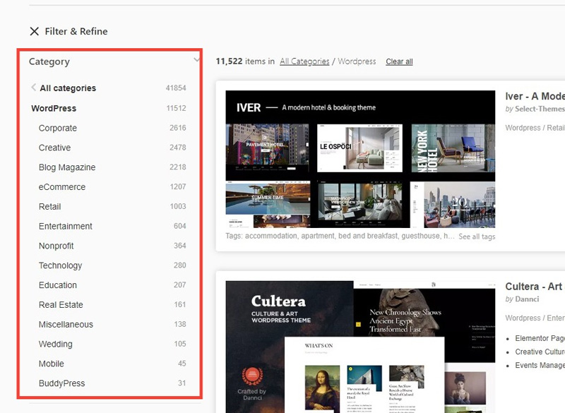Multipurpose Themes for WordPress