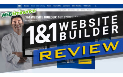 1&1 Website Builder Review – Is Europe's Premiere Website Builder For You?