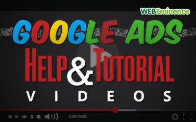 AdWords Help & Tutorial Videos