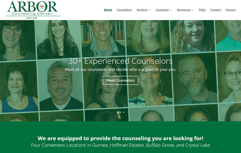 Counseling Website Home Page