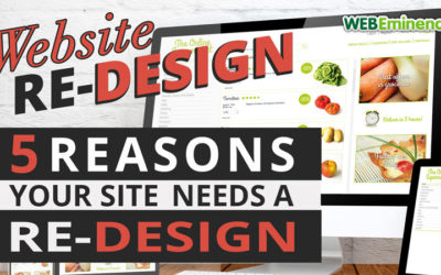5 Reasons Your Site Needs a Redesign, Common Questions Answered