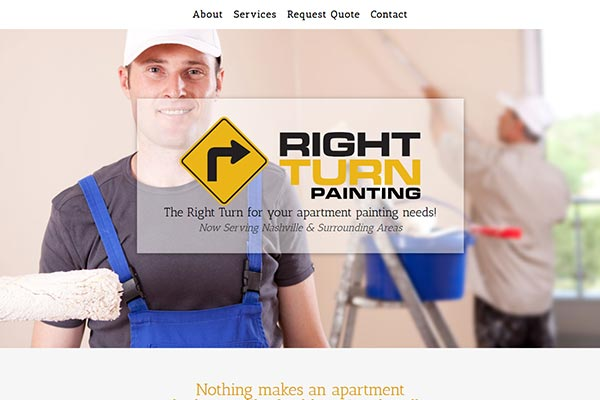 5 Page Painting Website