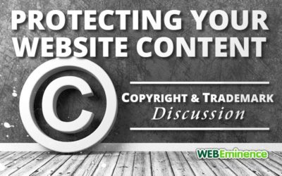 Trademark & Copyright Q&A – Protecting Your Website Content