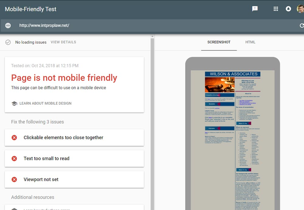 how to make a mobile friendly website for free