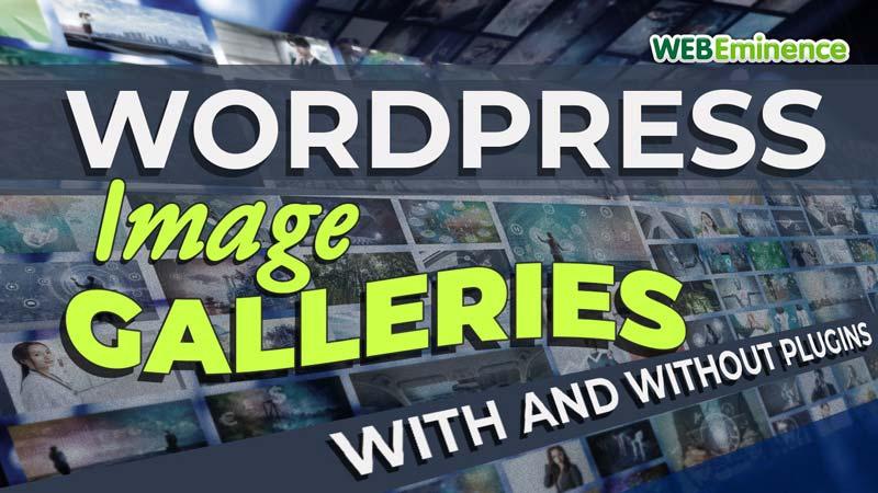 Image Gallery in WordPress