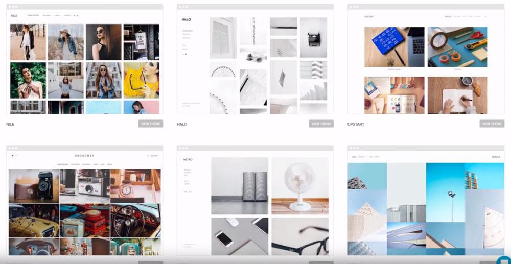 Pixpa Website Templates