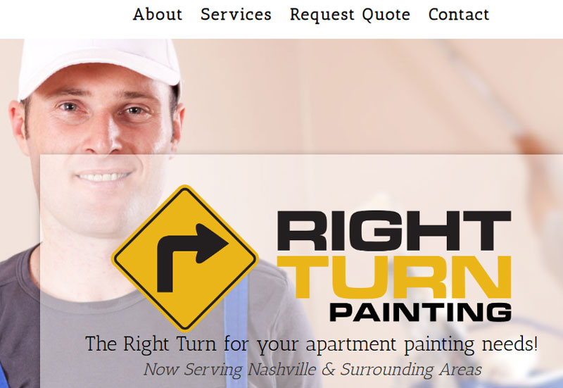 painting website slogan example