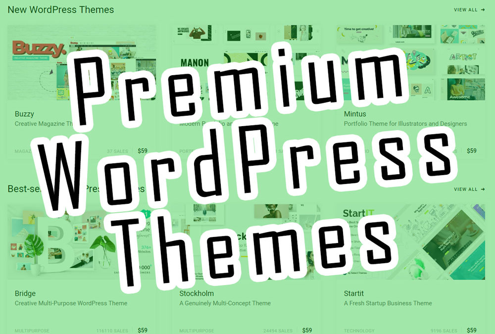 Benefits of Using a Premium WordPress Theme