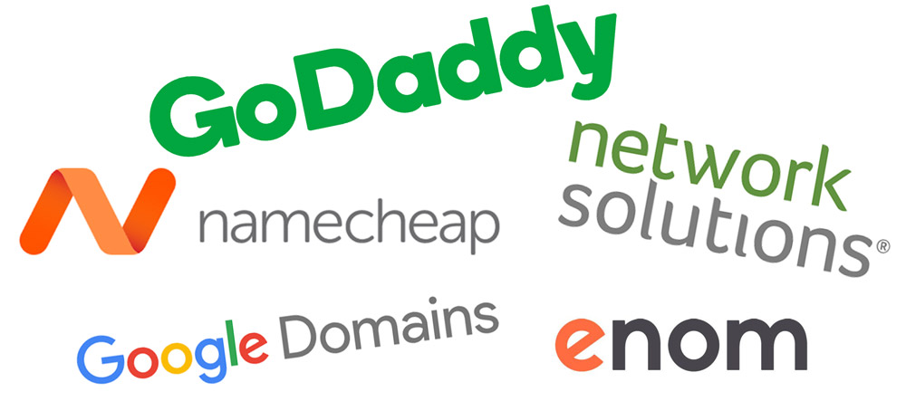 Top Domain Seller Logos