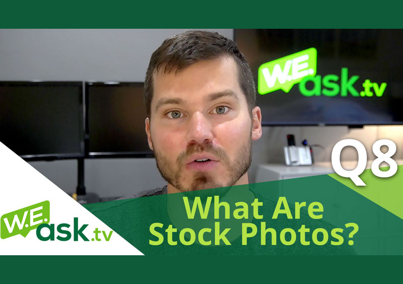 What Are Stock Photos? Comparison of Free vs Paid+License WARNING – WEask.tv Q8